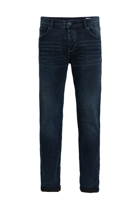 Heren skinny fit jeans Donkerblauw