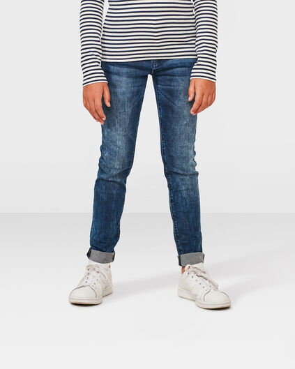 MEISJES SUPER SKINNY POWER STRETCH JEANS Lichtblauw