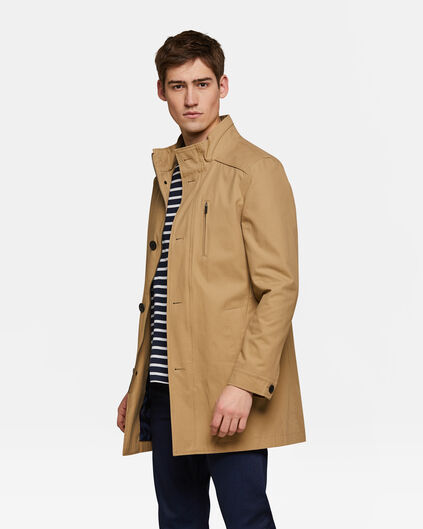 Heren mac coat Beige
