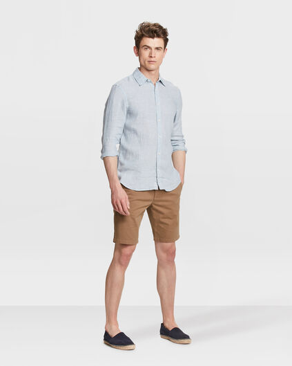 HEREN REGULAR FIT GARMENT DYED CHINO SHORT Bruin