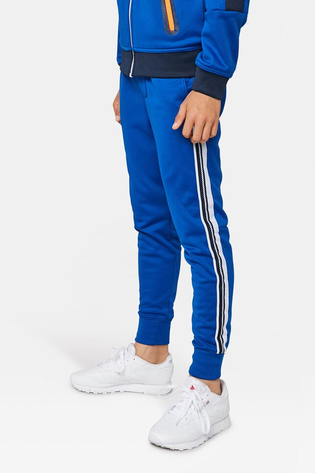 Jongens sporty sweatpants Kobaltblauw