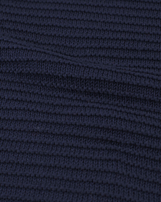 DAMES LOOSE FIT TRUI Donkerblauw