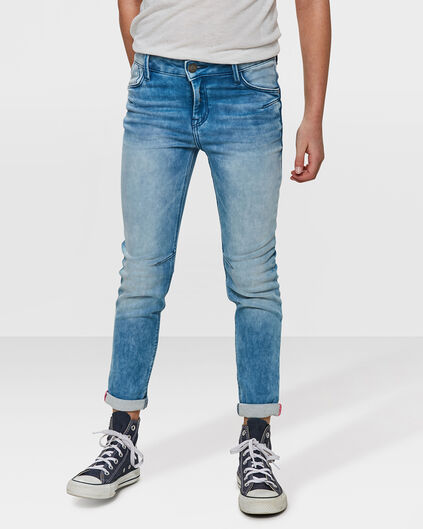 MEISJES BOYFRIEND FIT JOG DENIM Indigo