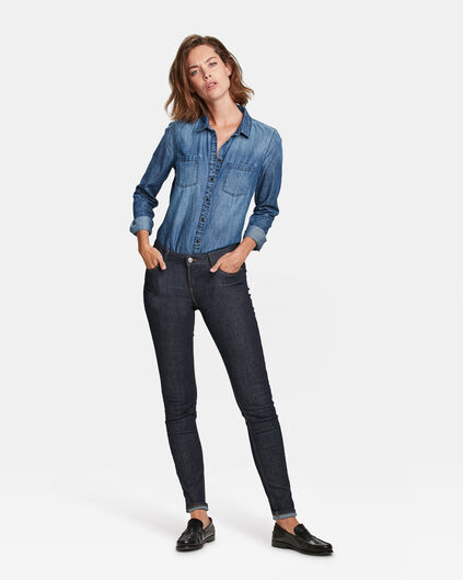DAMES MID RISE SKINNY JEANS Indigo