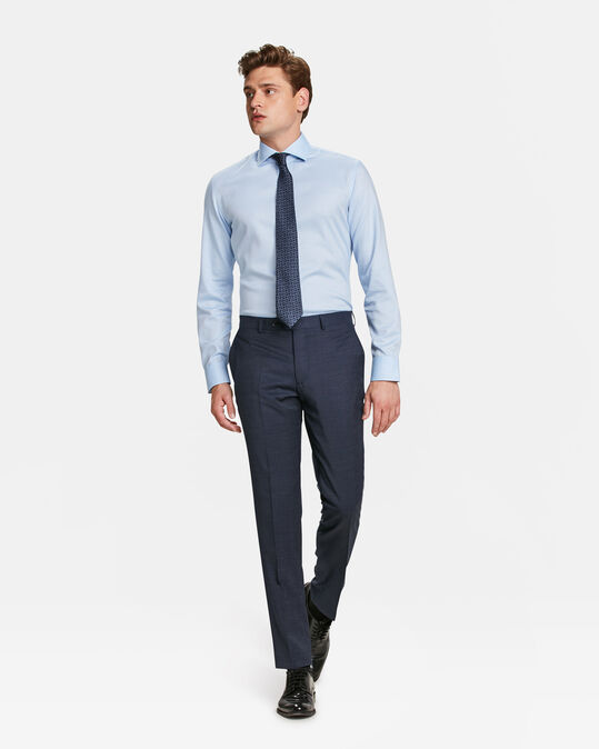HEREN SLIM FIT PANTALON BALHAM Marineblauw