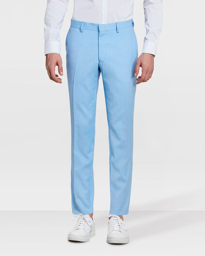HEREN SLIM FIT PANTALON DALI Lichtblauw