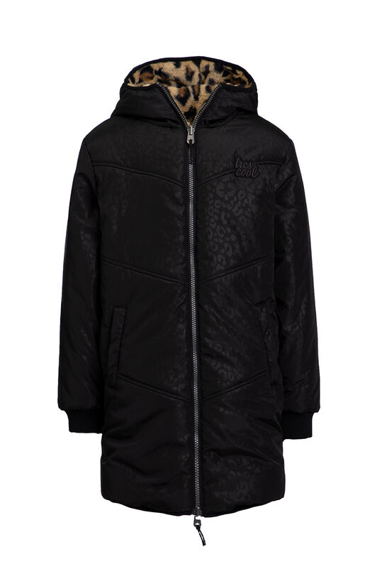 Meisjes reversible waterafstotende parka All-over print