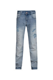 Jongens Regular Fit jog denim jeans_Jongens Regular Fit jog denim jeans, Blauw