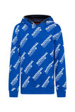 Jongens national crew capuchonsweater, All-over print