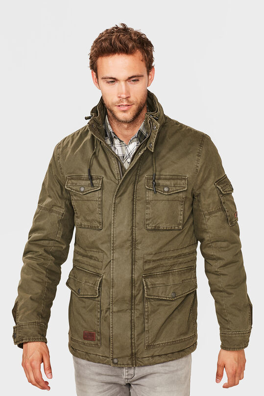HEREN FIELD JACKET Groen