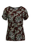 Dames T-shirt met dessin, All-over print