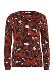 Dames sweater met panterdessin, All-over print