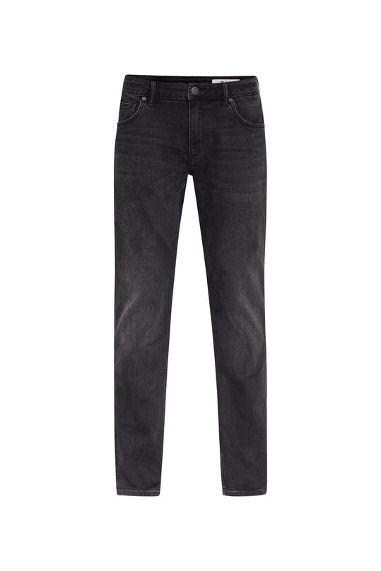 Heren relaxed stretch jeans Zwart