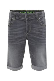 Jongens regular fit denimshort_Jongens regular fit denimshort, Lichtgrijs