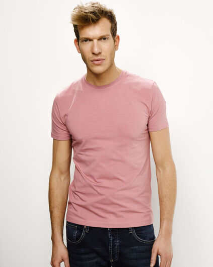 HEREN ORGANIC COTTON T-SHIRT Oudroze