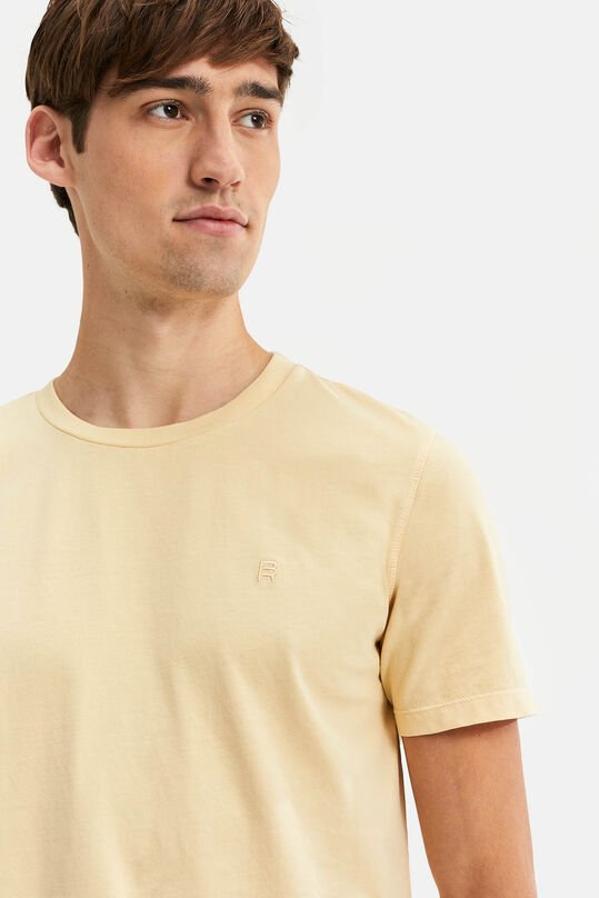 Heren Blue Ridge T-shirt Lichtgeel