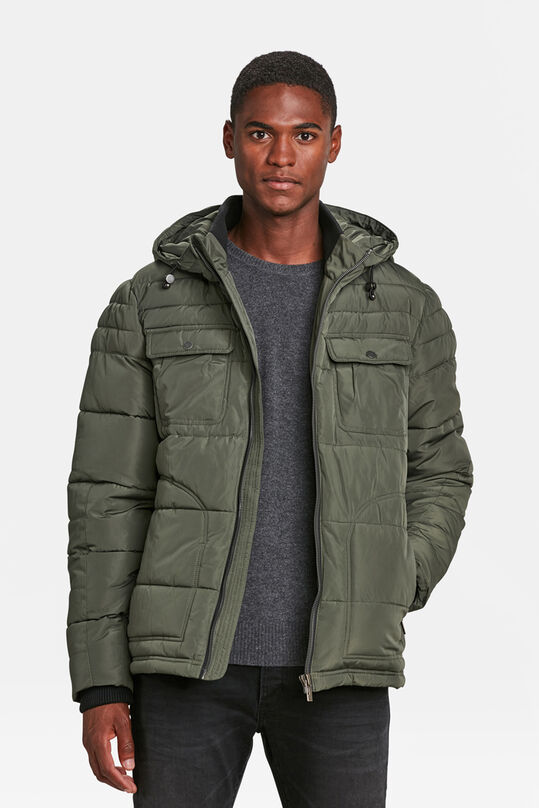 HEREN PUFFER JACKET Groen