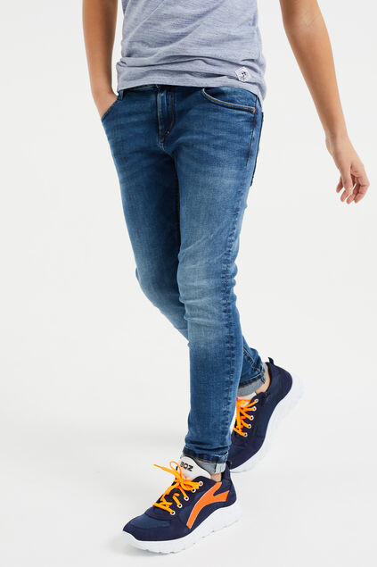 Jongens regular fit jeans van jog denim Donkerblauw