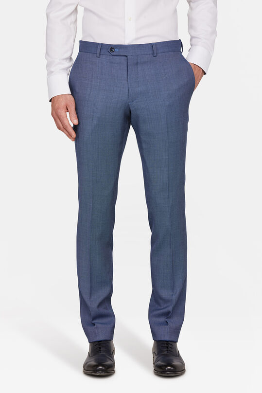 HEREN SLIM FIT PANTALON MEDLEY Marineblauw