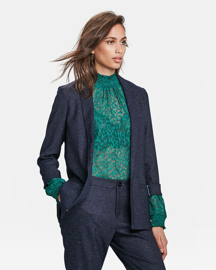 DAMES REGULAR FIT INDIGO BLAZER Indigo