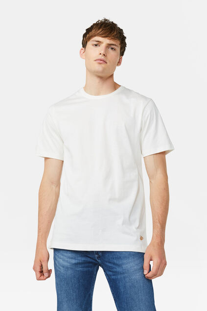 Heren T-shirt Wit