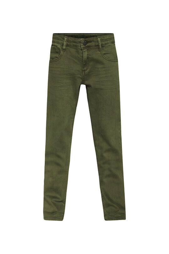 Jongens regular fit denim jeans Groen