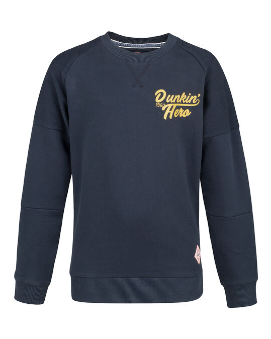 JONGENS HERO SWEATER Donkerblauw