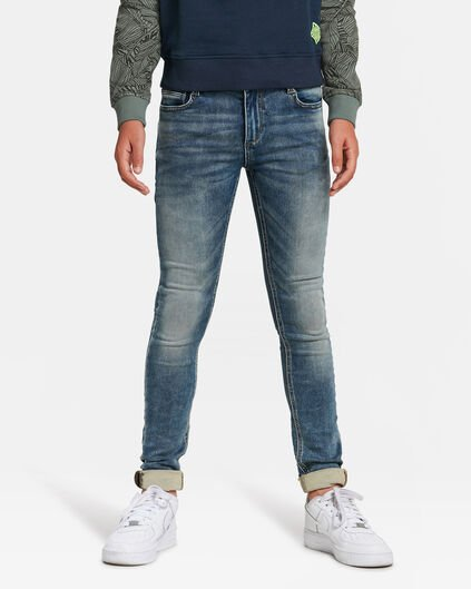 JONGENS ULTRA SKINNY FIT JOG DENIM Lichtblauw