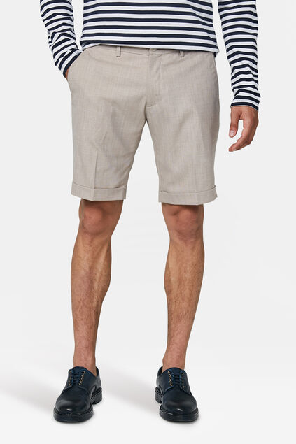Heren slim fit short Dali Beige