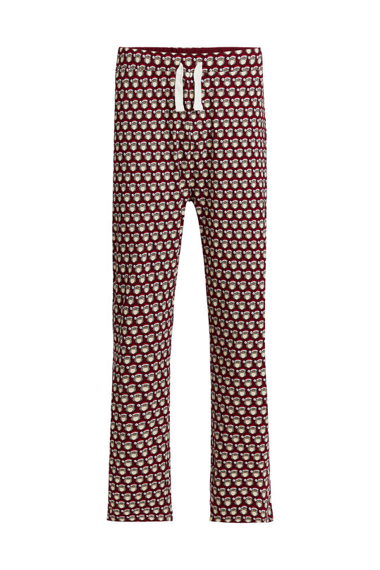 Heren pyjamabroek met kerstdessin All-over print