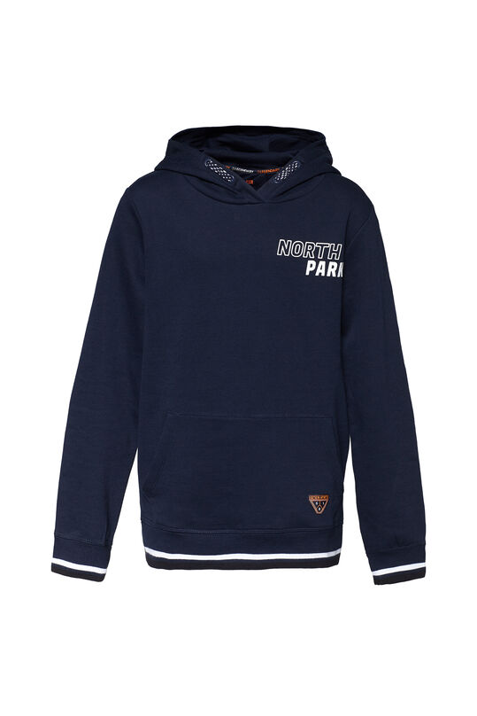 Jongens north park sweater Marineblauw