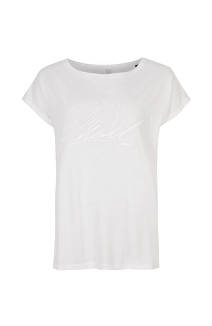 Dames O`Neill Essential Graphic T-Shirt Wit