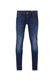 HEREN SLIM TAPERED SUPER STRETCH JEANS_HEREN SLIM TAPERED SUPER STRETCH JEANS, Donkerblauw
