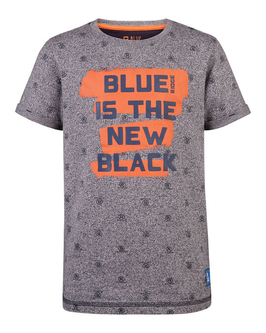 JONGENS THE NEW BLACK T-SHIRT Donkerblauw