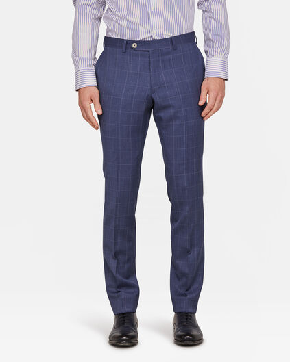 HEREN SLIM FIT PANTALON WESTVIEW Blauw