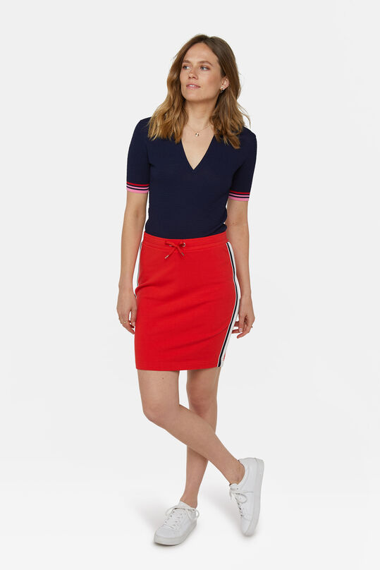 Dames sweatrok Rood