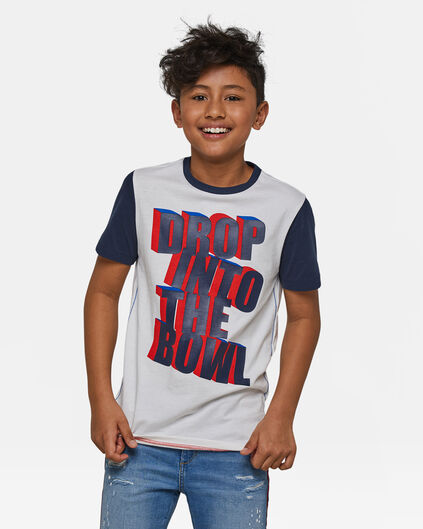 Jongens T-shirt Wit