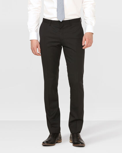 HEREN SLIM FIT PANTALON TOM Zwart