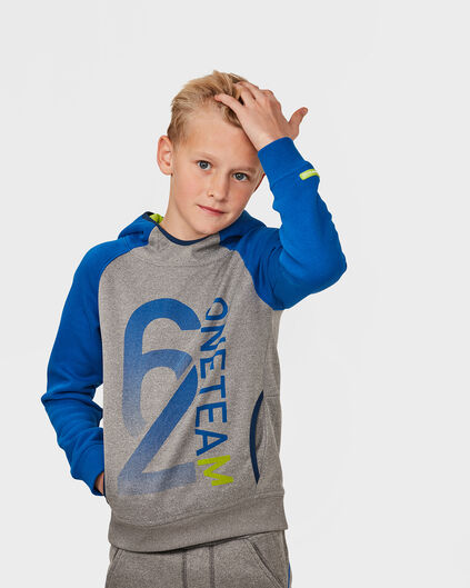 JONGENS HOODED SWEATER Blauw