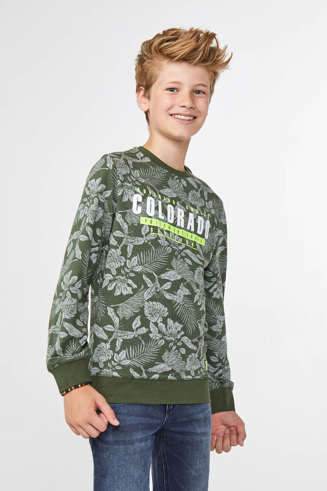 Jongens colorado T-shirt Groen