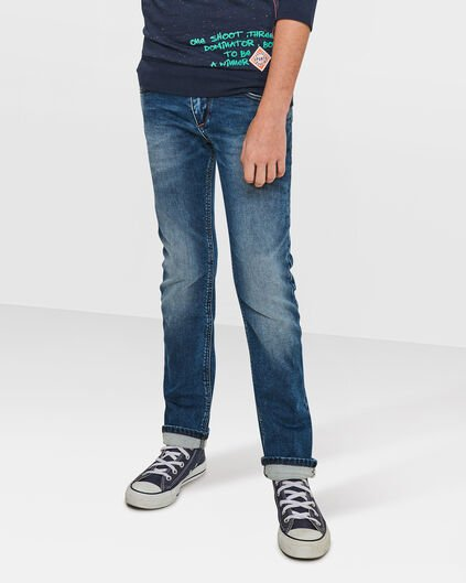 JONGENS SKINNY FIT JOG DENIM Blauw