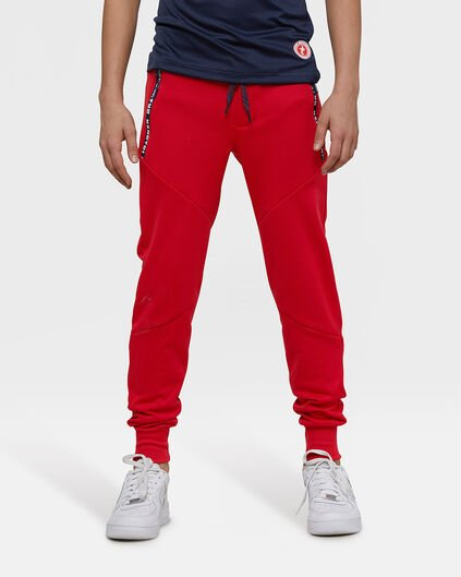 Jongens sporty sweatpants Rood