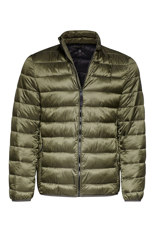 Heren puffer jacket Legergroen