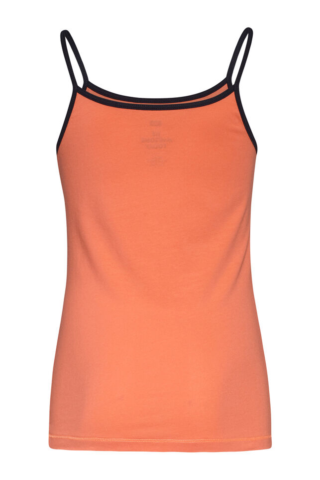 Meisjes make it happen singlet Feloranje