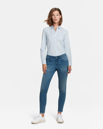 DAMES SUPER SKINNY HIGH STRETCH JEANS Lichtblauw
