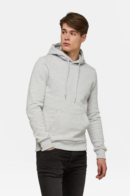 Heren capuchonsweater Wit