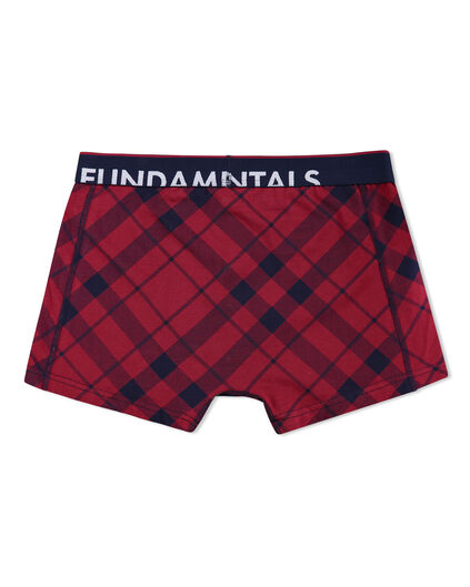 HEREN GERUITE BOXERSHORTS Bordeauxrood