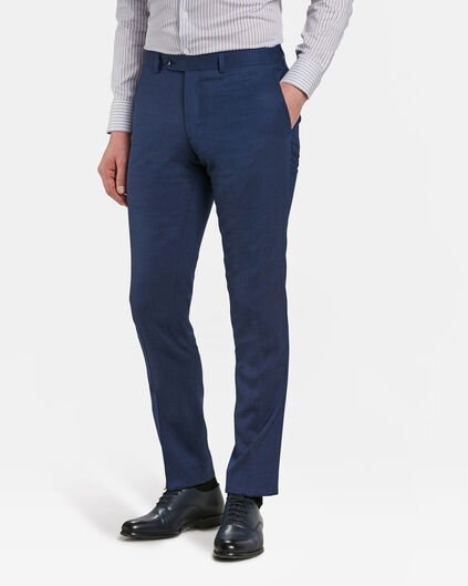 HEREN SLIM FIT PANTALON BRANDENTOWN Marineblauw