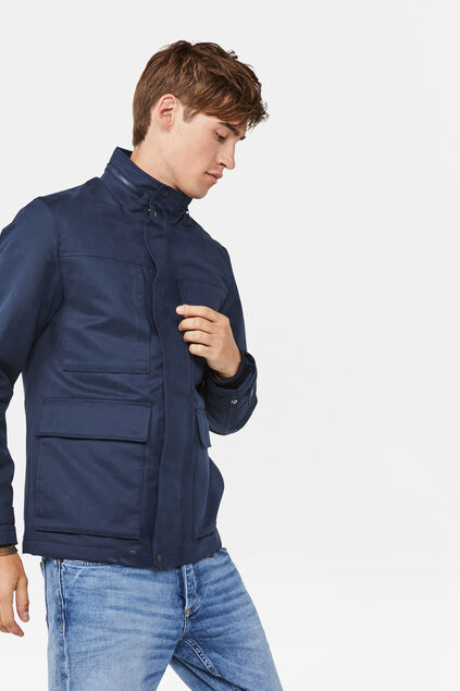Heren jacket Marineblauw