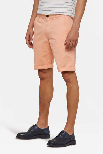 Heren regular fit chino short Oudroze